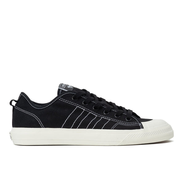 Adidas Nizza RF - Black / White - Side - Off The Hook Montreal