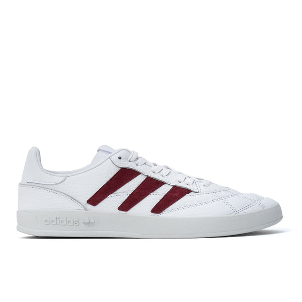 Adidas Sobakov P97 - White / Burgundy - Side - Off The Hook Montreal