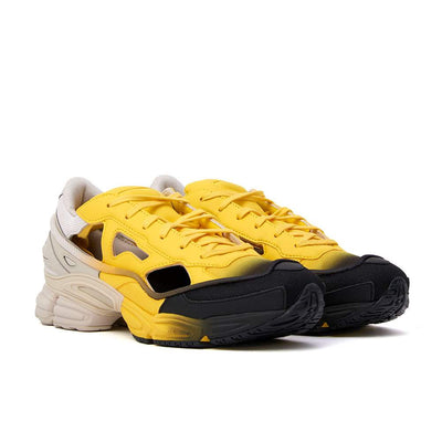 Raf Simons x Adidas Replicant Ozweego - Yellow / Cream White - 45deg - Off The Hook Montreal