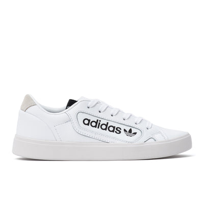 Adidas Sleek - White / White / Black - Side - Off The Hook Montreal