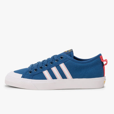 Adidas Nizza - Legend Marine / White / Glory Red - Side - Off The Hook Montreal