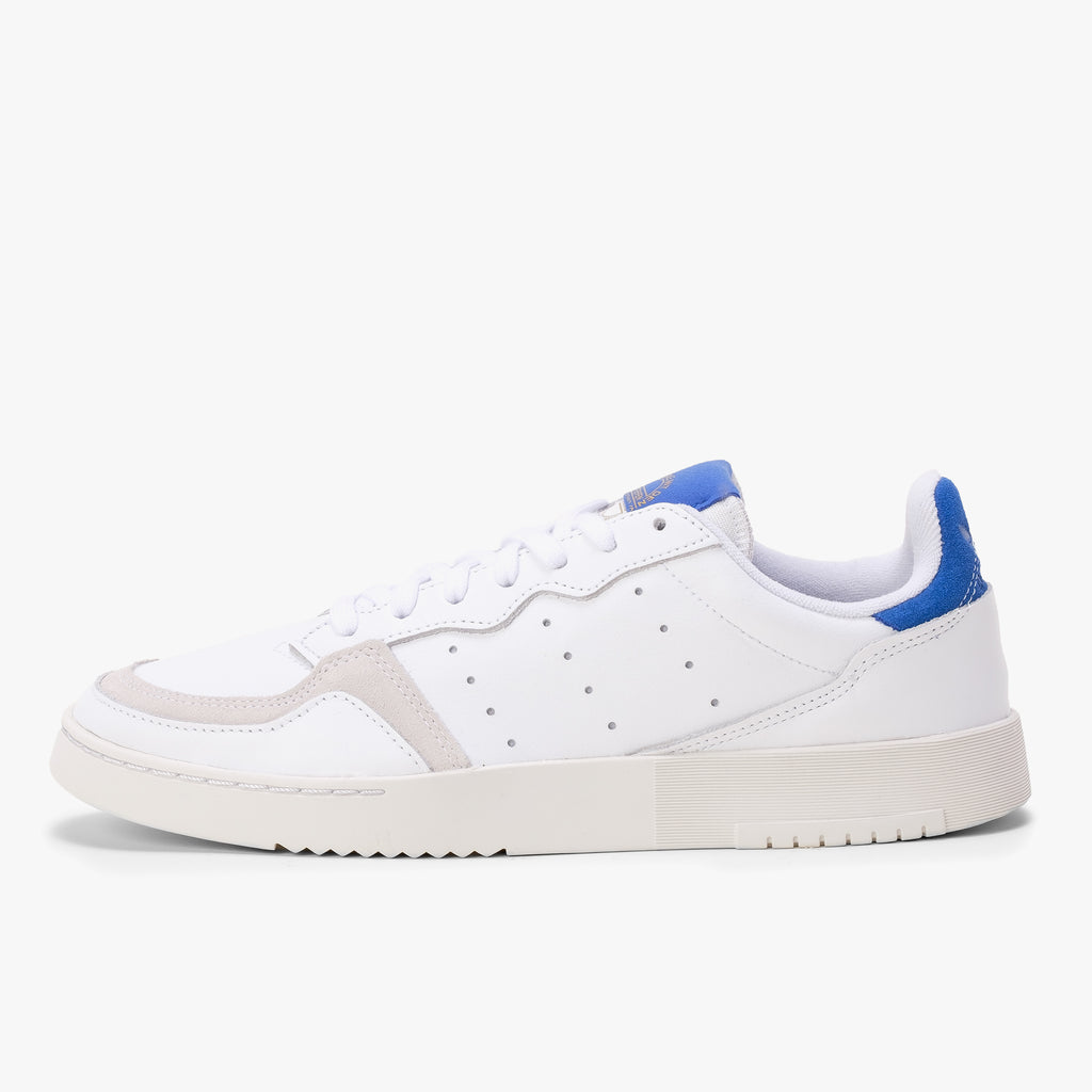 Adidas Supercourt - White / Royal Blue - Side - Off The Hook Montreal