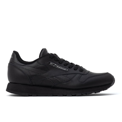 Reebok Classic Leather - Black - Side - Off The Hook Montreal