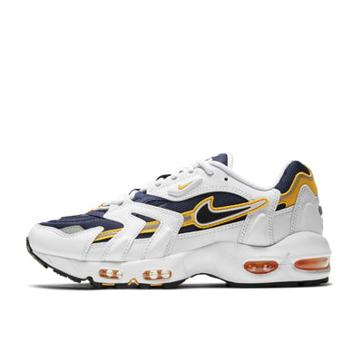 Air Max 96 II - (White/Black-Midnight Navy) -  Lateral View - Off the Hook Montreal
