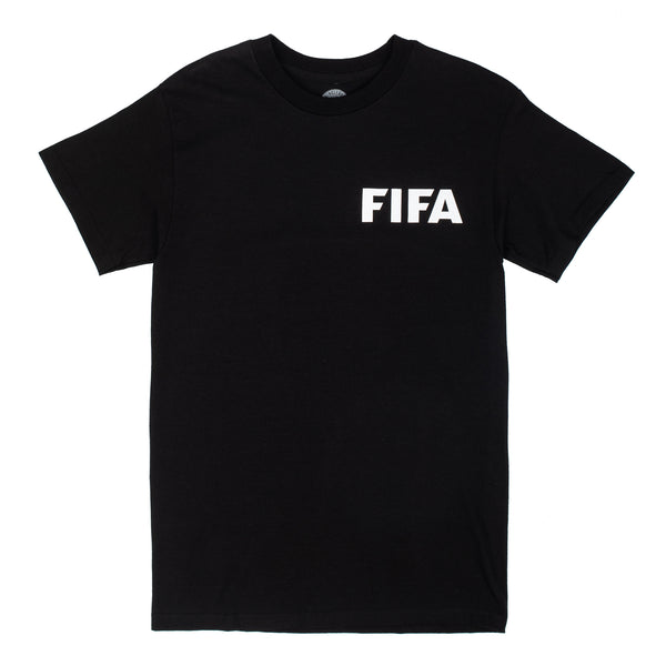 Ringleaders Fifa Tee - Black - Front - Off The Hook Montreal