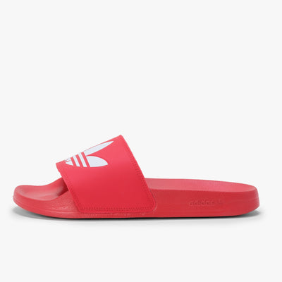 Adidas Adilette - Red / White - Side - Off The Hook Montreal