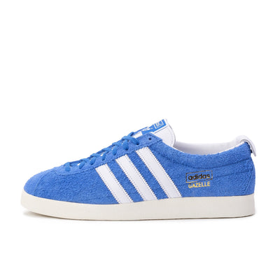 FU9656 Gazelle Vintage Blue/White/Gold - men's - side - available at off the hook montreal