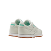 Reebok FV1080 W Classics Leather Chalk / Green / White back 3/4 disponible à off the hook montreal