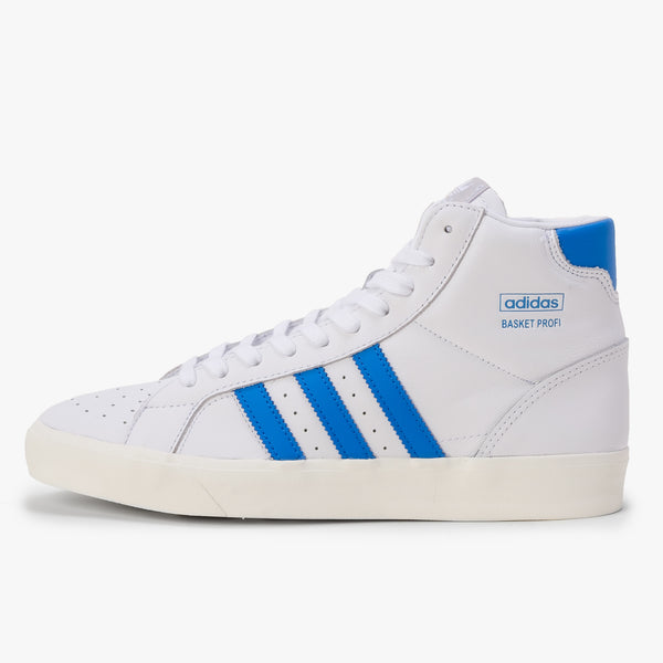 Adidas Profi - White / Blue - Side - Off The Hook Montreal