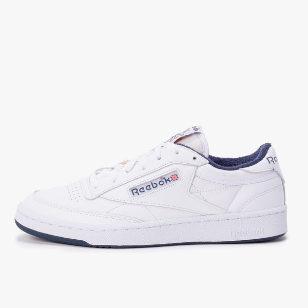 Reebok Club C 85 - White / Navy - Side - Off The Hook Montreal