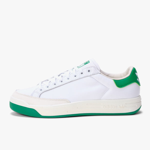 Adidas Rod Laver - White / Green - Side - Off The Hook Montreal