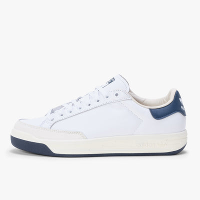 Adidas Rod Laver - White / Navy - Side - Off The Hook Montreal