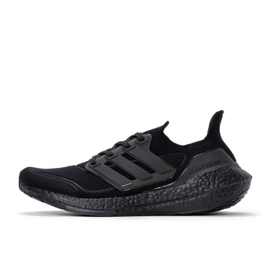 adidas Ultraboost 21 - Black / Black / Black - Side - Off The Hook Montreal