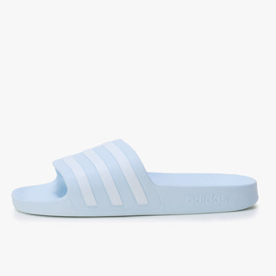 Adidas Adilette Aqua - Halblue / White - Side - Off The Hook Montreal