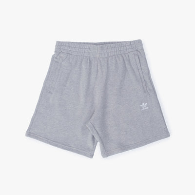 Adidas Essential Short - Heather Grey - Front - Off The Hook Montreal