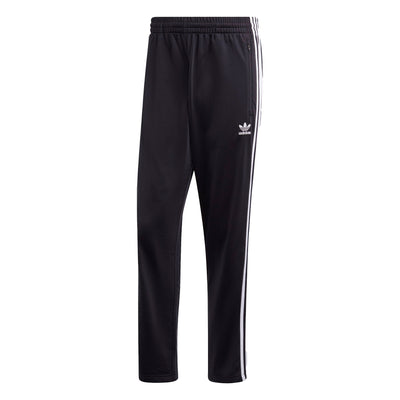 Adidas Firebird Track Pants - Black / White - Front - Off The Hook Montreal