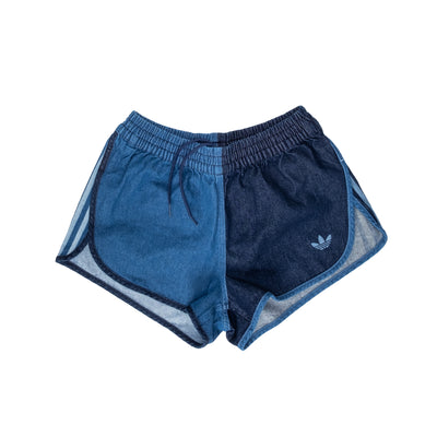 GM5374 Adidas Denim Shorts - women's - front - available at off the hook montreal #color_indigo