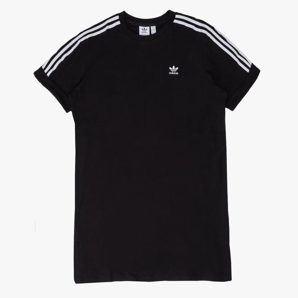 adidas GN2777 Women's Tee Dress Black - front - available at off the hook montreal