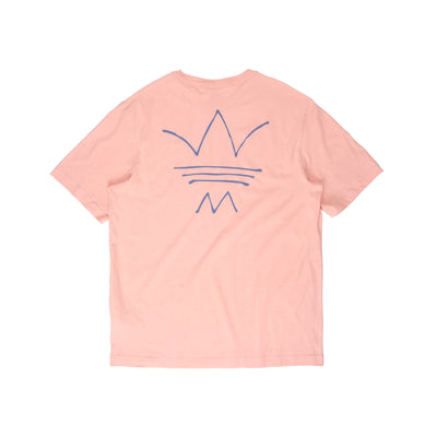 GN3282 R.Y.V Abstract OG Tee - back - available at off the hook montreal #color_dusty-pink