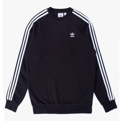 Adidas 3-Stripes Crew Black - Front - Off The Hook Montreal