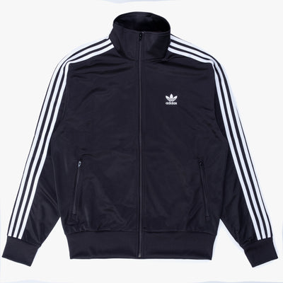 Adidas Firebird Track Jacket - Black - Front - Off The Hook Montreal