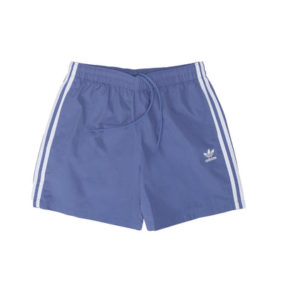 adidas GN3527 3-Stripe Swim Shorts Blue - front - available at off the hook montreal