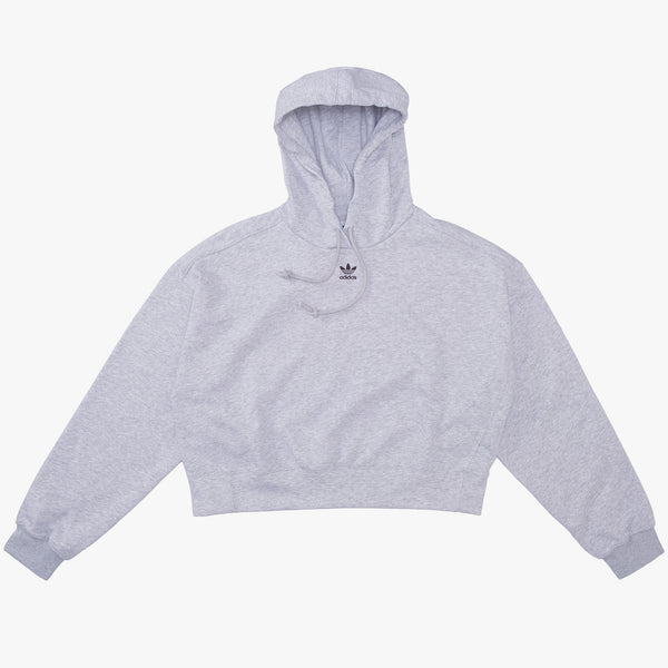 adidas - GN4776 Women's Hoodie Light Grey Heather - front - available at off the hook montreal