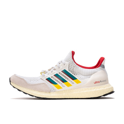 adidas Ultraboost DNA - White / Green / Scarlet - Side - Off The Hook Montreal