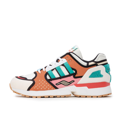 adidas ZX 10000 Krusty Burger - Chalk White / Footwear White / Supcol - Side - Off The Hook Montreal