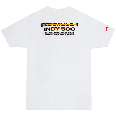 OTH x McLaren T-Shirt - White - Back - Off The Hook Montreal