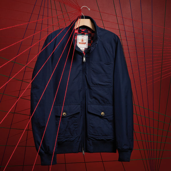 Vault x Baracuta M Coat - Dress Blue - Front - Off The Hook Montreal
