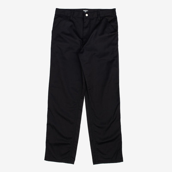 carhart wip Simple Pant Black is now available at off the hook montreal