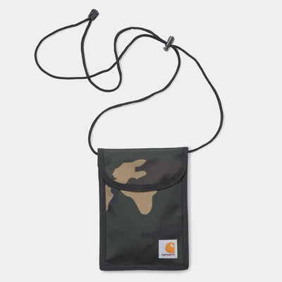 Carhartt I020835 Collins Neck Pouch Camo Laurel - front - available at off the hook montreal