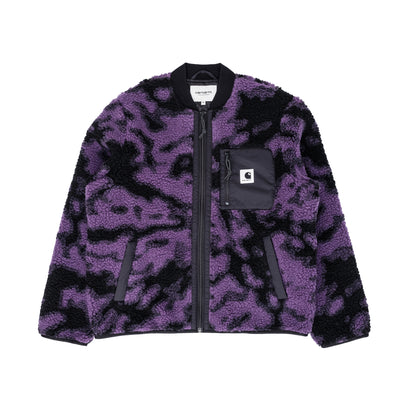 Carhartt  I025151 Women's Janet Liner Camo/Purple - front - available at off the hook montreal
