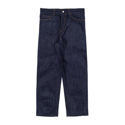 Carhartt WIP Smith Pant - Blue - Front - Off The Hook Montreal #color_blue