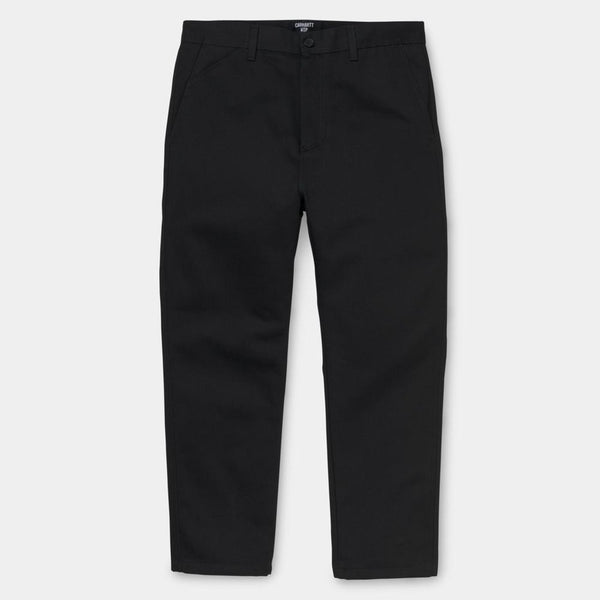 carhartt wip Menson Pant Black is now available at off the hook montreal