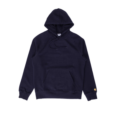 I026384 Hooded Chase Sweatshirt - men's  - front - available at off the hook montreal #color_dark-navy-gold