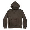 carhartt wip klicks sweat cyprès sweat à capuche vert marron militaire off the hook oth streetwear