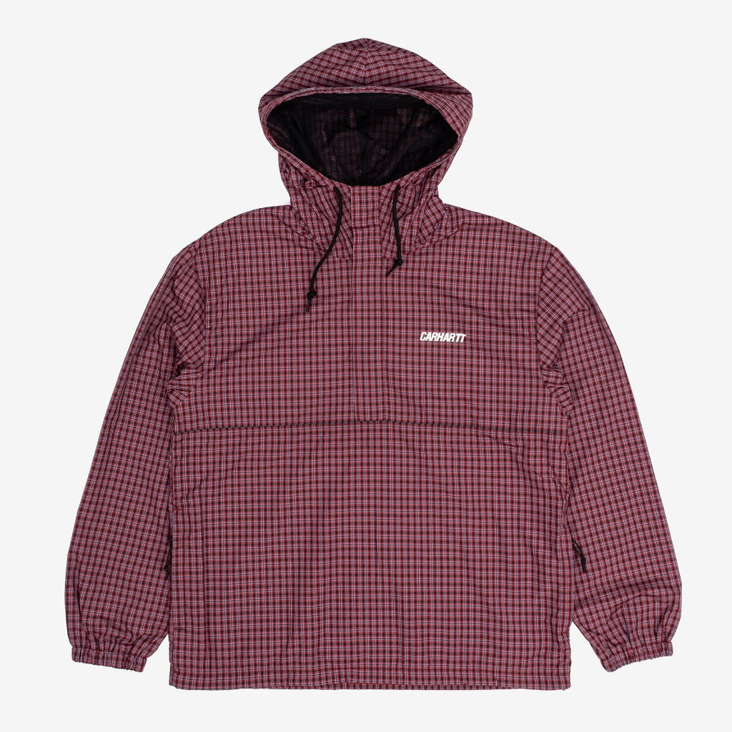 carhartt wip Alistair Pullover Black / Etna Red W is now available at off the hook montreal