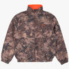 Carhartt I028094 Denby Reversible Jacket Camo / Orange - vue de face - disponible à off the hook montreal