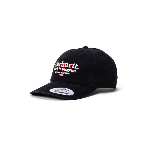 Carhartt Commission Cap - Black - Front - Off The Hook Montreal
