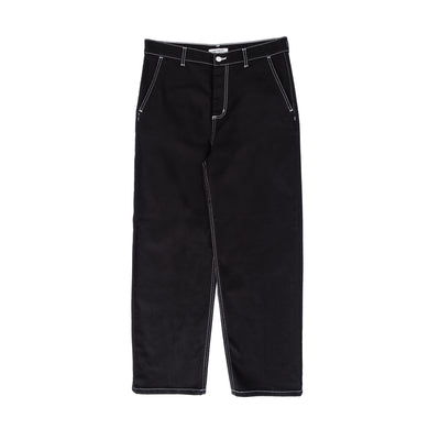 Armanda Pant - women's - front - available at off the hook montreal #color_black-rinsed