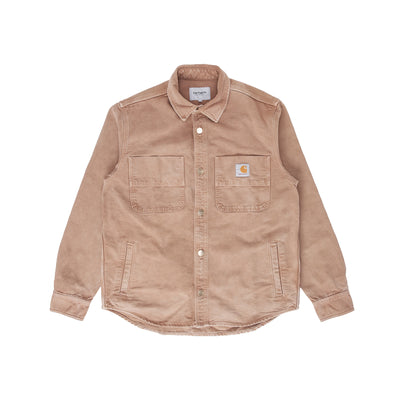 Carhartt WIP Glenn Shirt Jacket - Hamilton Brown - Front - Off The Hook Montreal #color_hamilton-brown