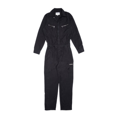 Carhartt WIP W Boiler Suit - Black - Front - Off The Hook Montreal  #color_black-rinsed