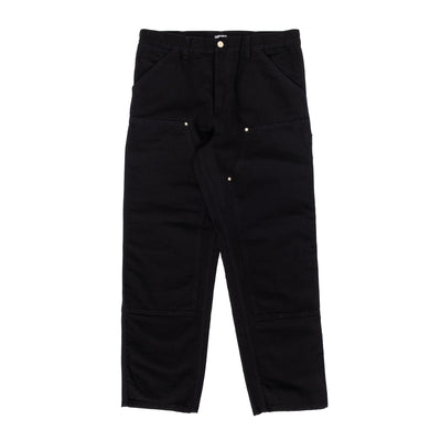 Carhartt WIP Double Knee Pant - Black - Front - Off The Hook Montreal #color_black