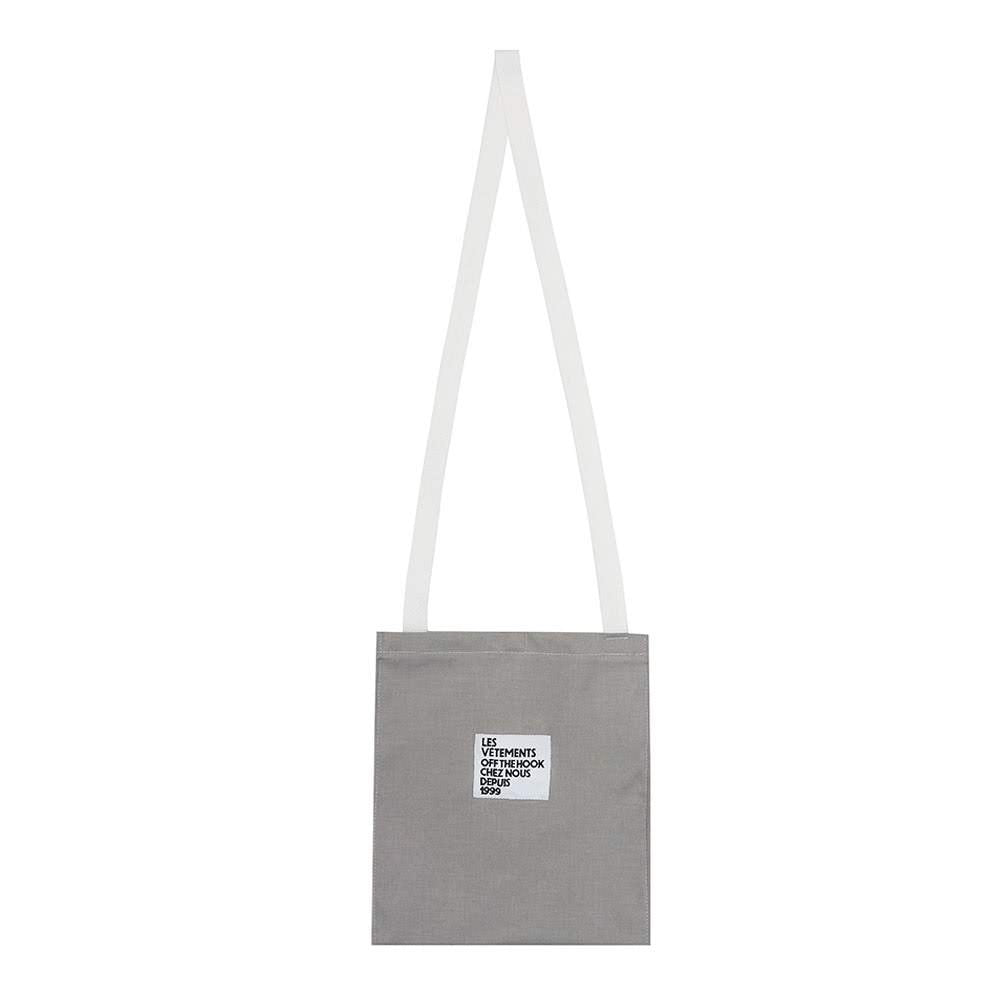 OTH Les Vetements Harry Tote - Grey - Front - Off The Hook Montreal
