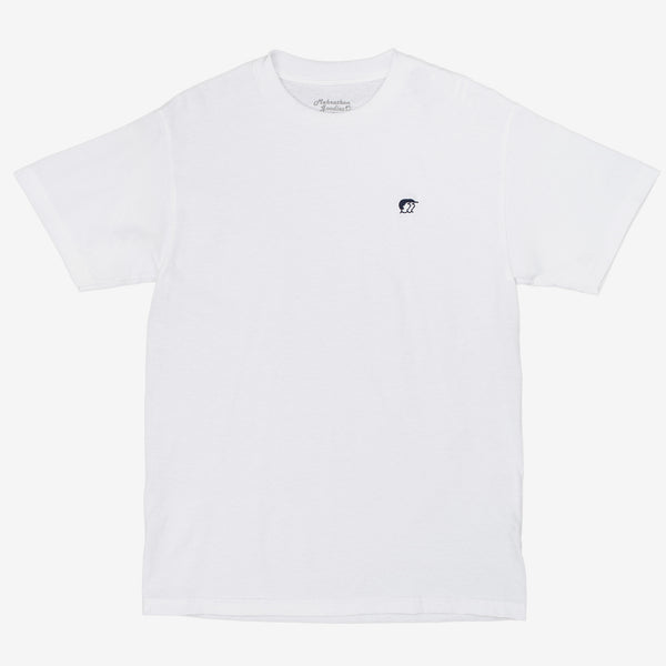 Mehrathon Mini R&S Tee - White - Front - Off The Hook Montreal
