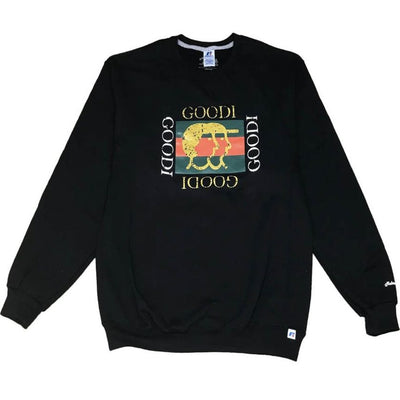 Mehrathon Goodi Crewneck - Black - Front - Off The Hook Montreal
