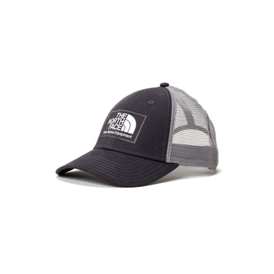 TNF Mudder Trucker Hat - Asphalt Grey - Front - Off The Hook Montreal #color_asphalt-grey