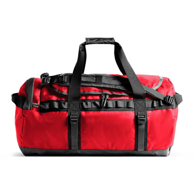 The North Face NF0A3ETP Base Camp Duffel Red/Black front available at off the hook montreal
